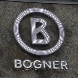 Bogner shop Prag